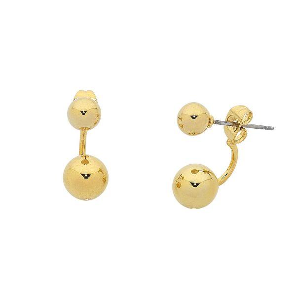 Gold Dame Earrings