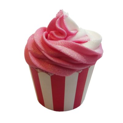 Cranberry Pomegranate Bath Bomb Cupcake