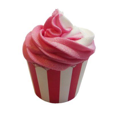 Cranberry Pomegranate Bath Bomb Cupcake