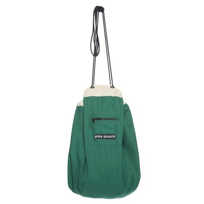 Emerald Green Play Pouch