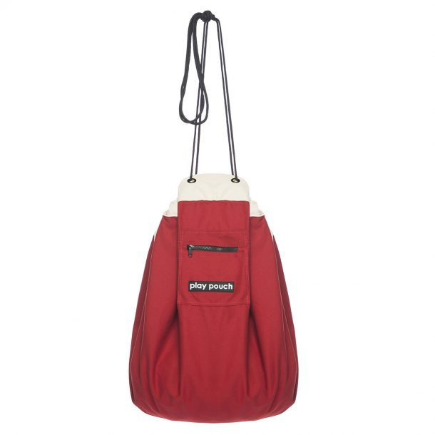Rocket Red Play Pouch hanging