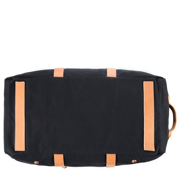 bottom of the Status Anxiety Black Fat of Land Travel Bag