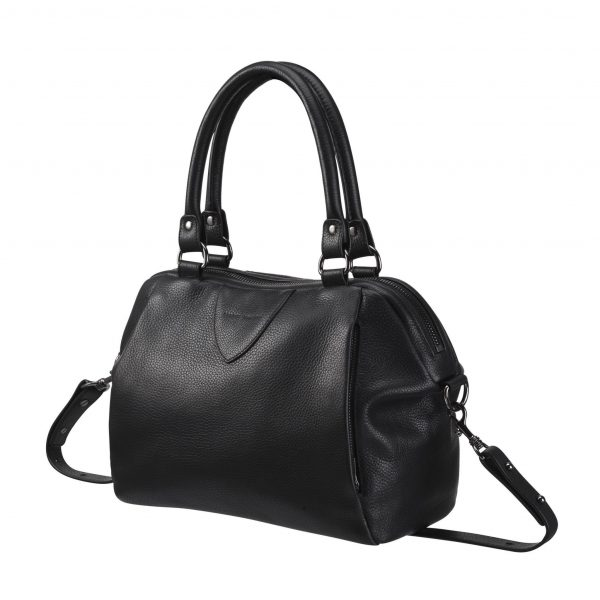 Status Anxiety Black Force of Being Bag side view