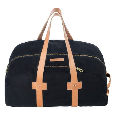 Status Anxiety Black Fat of Land Travel Bag