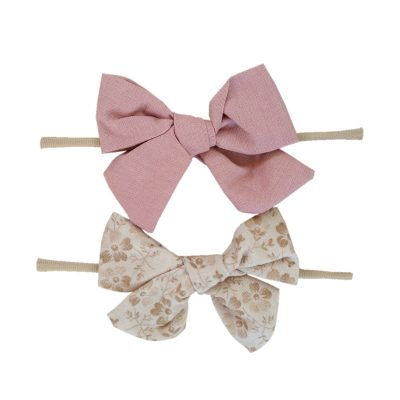 Amy Fabric Bow Set