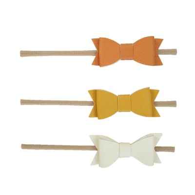 Autumn Leather Bow Pack
