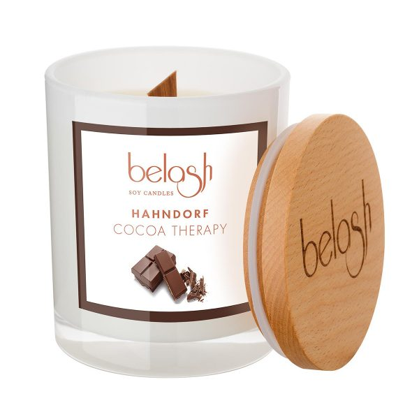 Large Cocoa Therapy Candle