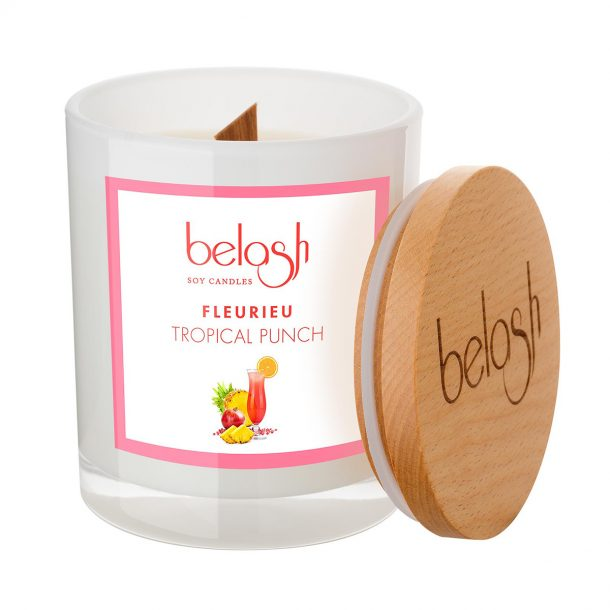 Large Tropical Punch Candle