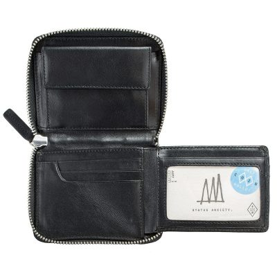 Status Anxiety Black Darius Wallet