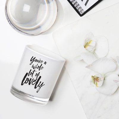 DAMSELFLY // You're a Whole Lot of Lovely. Damselfly Candle