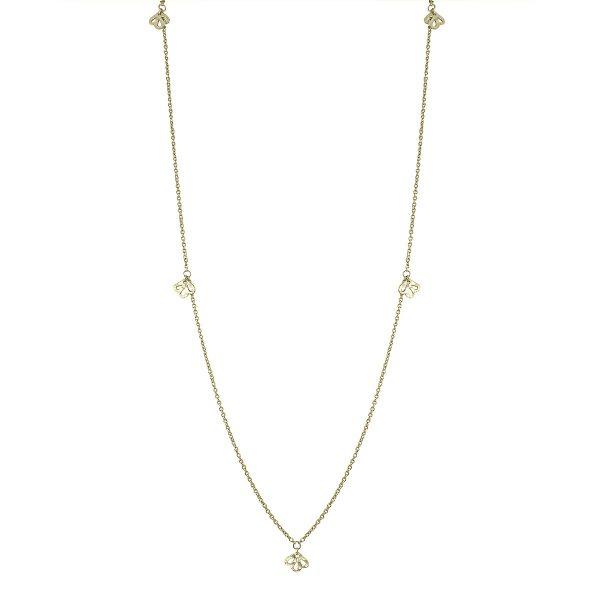 Nicole Fendel Soft Gold Imogen Long Necklace