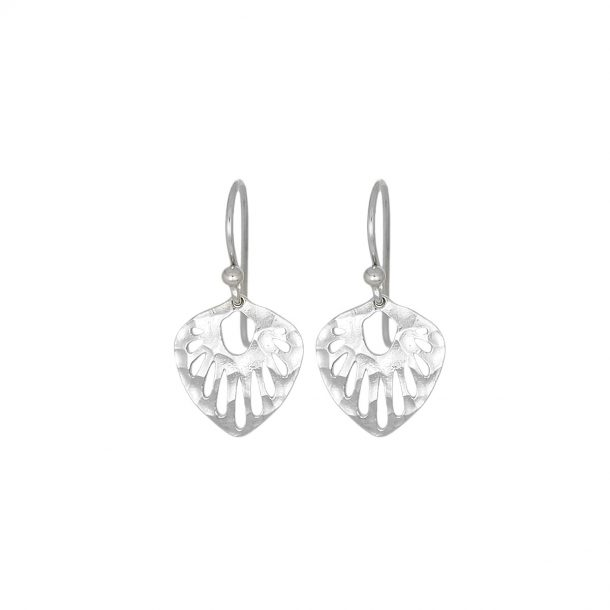 Nicole Fendel Silver Rashida Mini Earrings