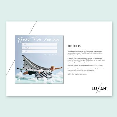 LUXAH Gift Voucher KIDS