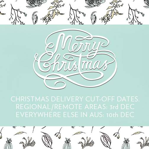 Luxah Christmas Delivery Cut off Dates