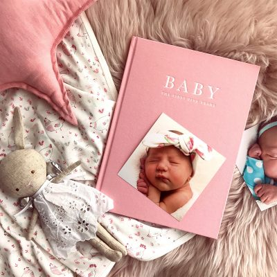 Birth to Five Years Pink Baby Journal