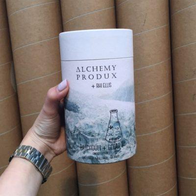 ALCHEMY PRODUX // Patchouli & Cedar Conical Flask Candle