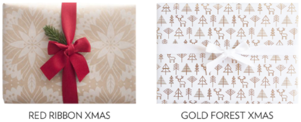 Luxah Free Christmas Gift Wraps