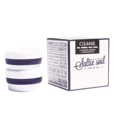SALTIE SOUL // Activated Charcoal Australian Clay Face mask
