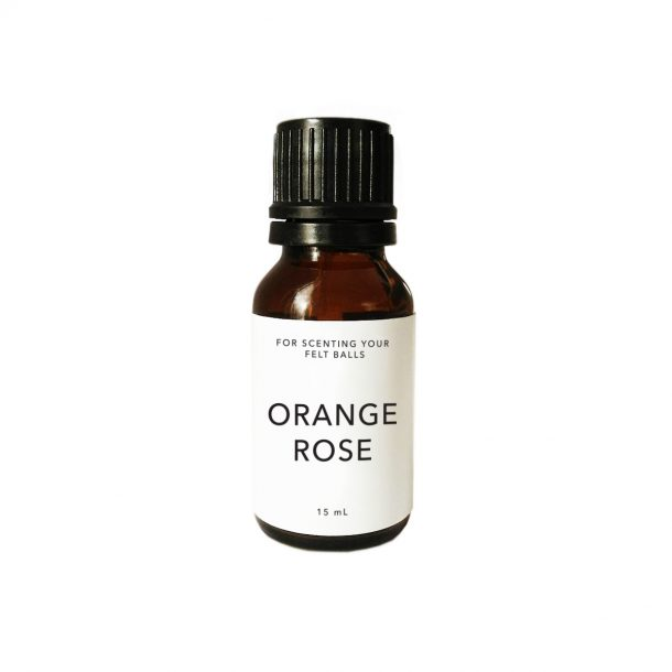 Smelly Balls Scent ORANGE ROSE Large 15mL