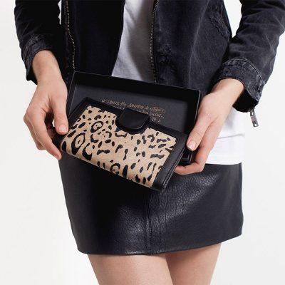 STAUS ANXIETY // Status Anxiety Leopard Doris Wallet