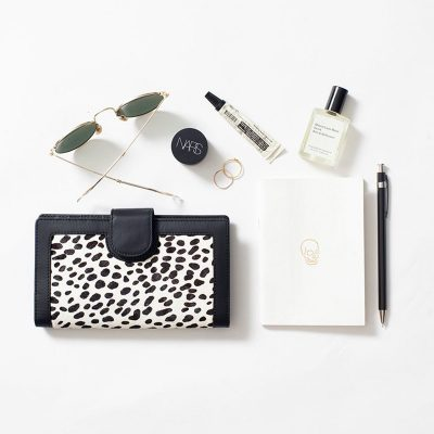 STATUS ANXIETY // Status Anxiety Snow Cheetah Doris Wallet
