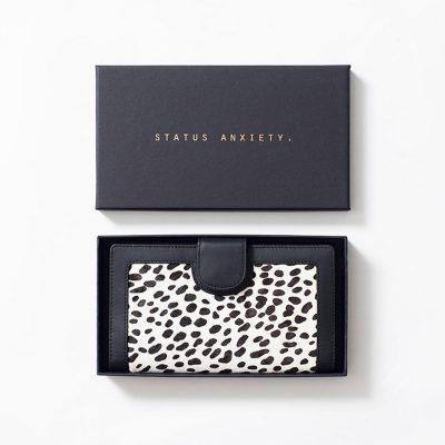 STATUS ANXIETY Status Anxiety Snow Cheetah Doris Wallet