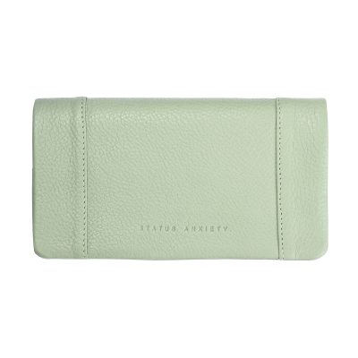 STATUS ANXIETY Status Anxiety Some Type of Love Mint Green Wallet
