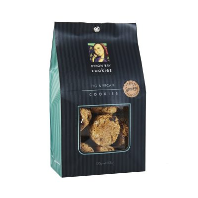 BYRON BAY COOKIE CO. Fig and Pecan Cookies Gift Bag