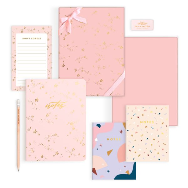 FOX & FALLOW Stardust Classic Stationery Gift Set