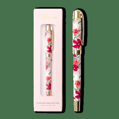 FOX & FALLOW Poppy Roller Pen with packaging