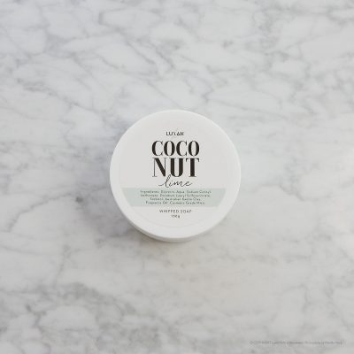 LUXAH // Coconut Lime Whipped Soap