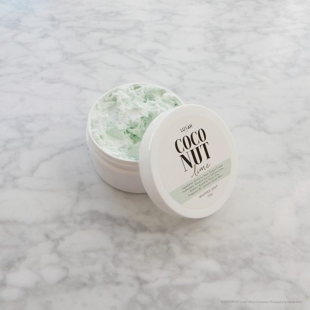 LUXAH Coconut Lime Whipped Soap