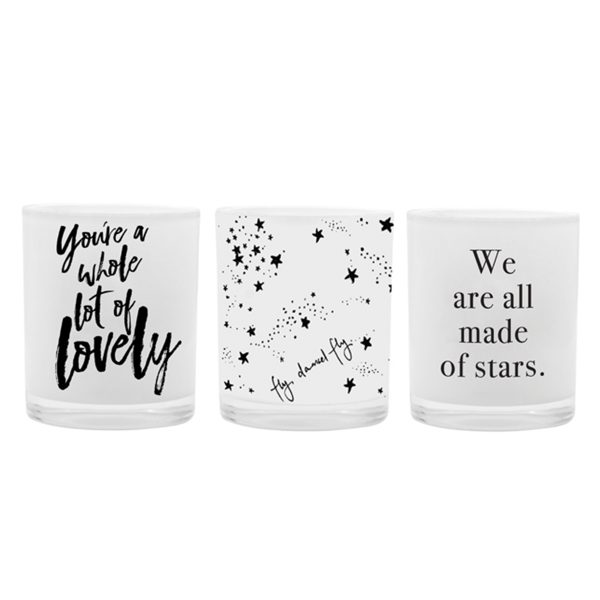 DAMSELFLY You're a Whole Lot of Lovely Damselfly Mini Candle Gift Trio