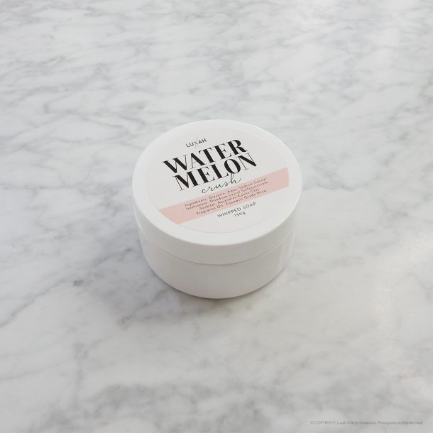LUXAH Watermelon Crush Whipped Soap