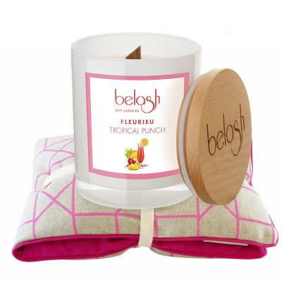 Pink Punch Winter Warmer Pack candle and heat pack