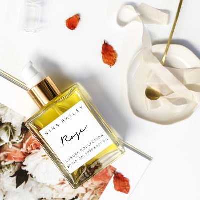 NINA BAILEY // Organic Rose Body Oil
