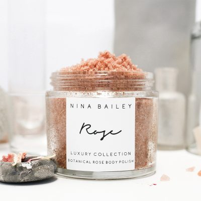NINA BAILEY // Natural Botanical Rose Body Polish