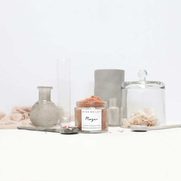 NINA BAILEY Natural Botanical Rose Body Polish