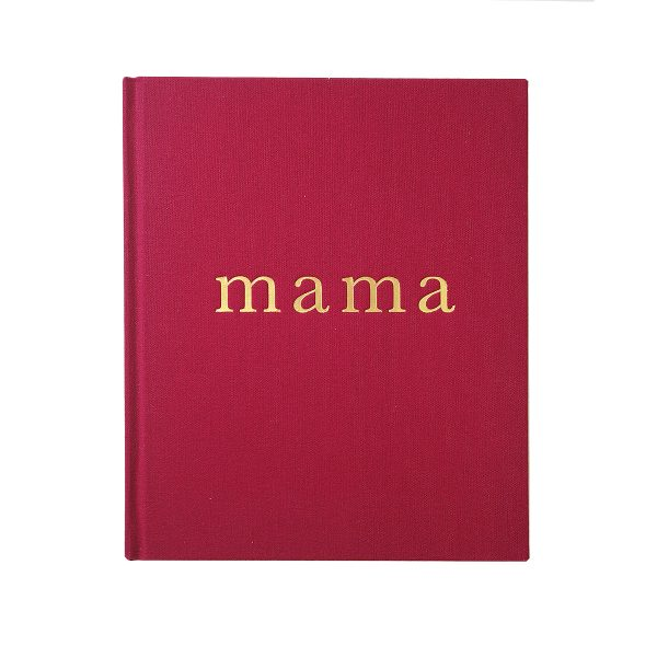 WRITE TO ME // Mama - Tell Me About It Maroon Journal