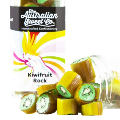 AUSTRALIAN SWEET CO Kiwifruit Rock Candy