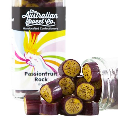 AUSTRALIAN SWEET CO Passionfruit Rock Candy
