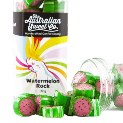 AUSTRALIAN SWEET CO Watermelon Rock Candy