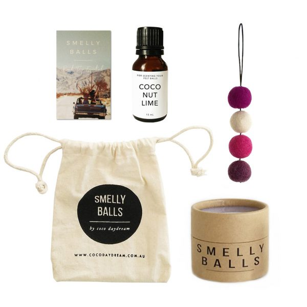 COCODAYDREAM Smelly Balls Berries Set