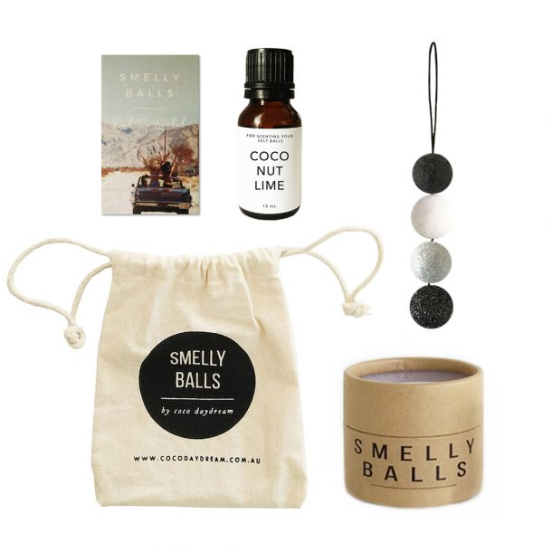 Smelly Balls Mono Black Glitter Set