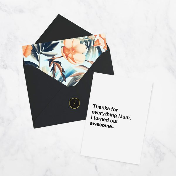 LUXAH Thanks Mum Gift Card