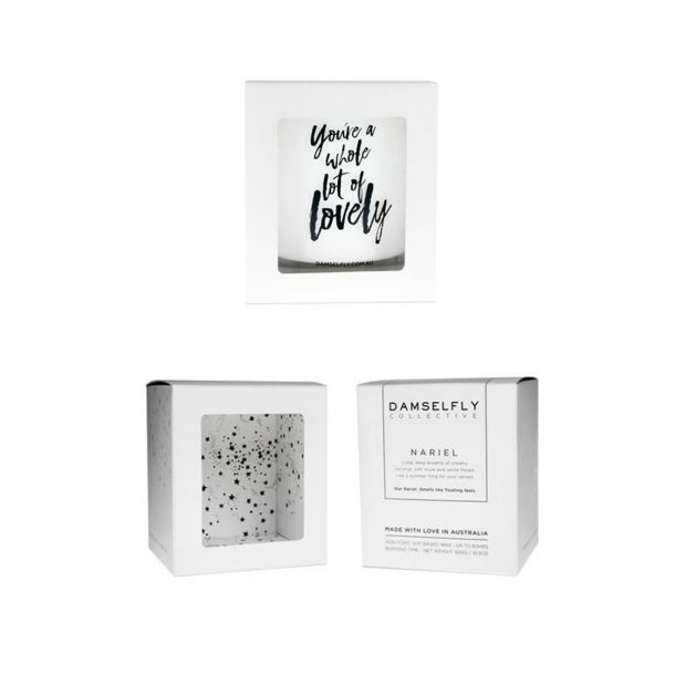 You're a Whole Lot of Lovely. Damselfly Candle