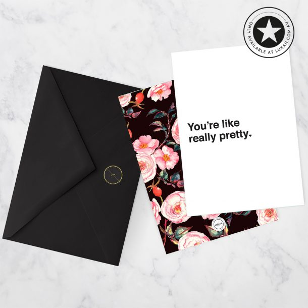 LUXAH You're Like Really Pretty ♥ Gift Card
