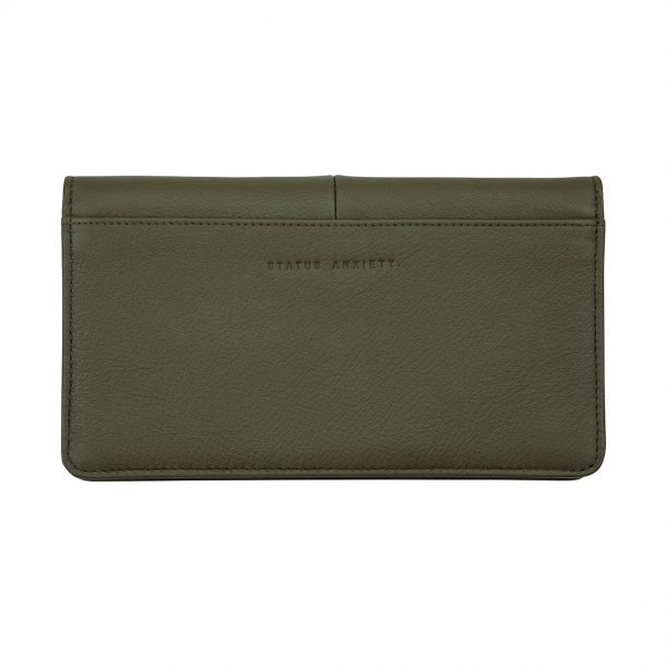 STATUS ANXIETY Status Anxiety Khaki Triple Threat Wallet