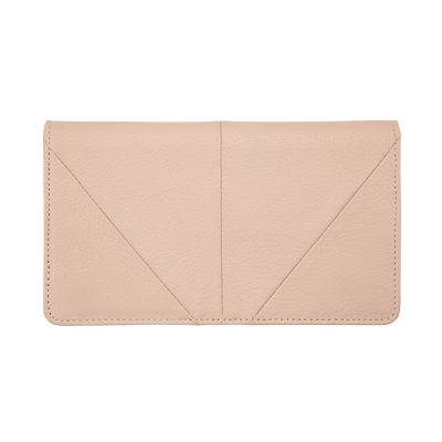 Status Anxiety Dusty Pink Triple Threat Wallet