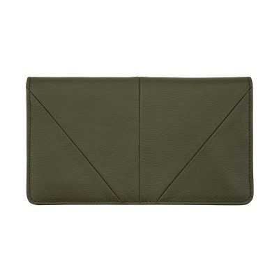STATUS ANXIETY // Status Anxiety Khaki Triple Threat Wallet